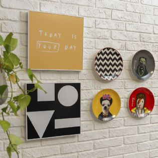 Quadro Love Pop Black
