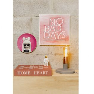 Quadro No Bad Days Rosa